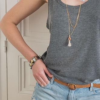 Bijoux style boheme par ub-creation.