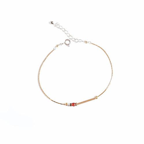 Bracelet Lise / orange