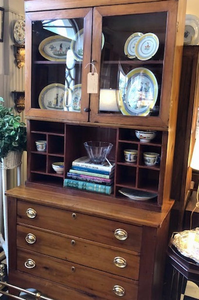19th C. Country Cupboard