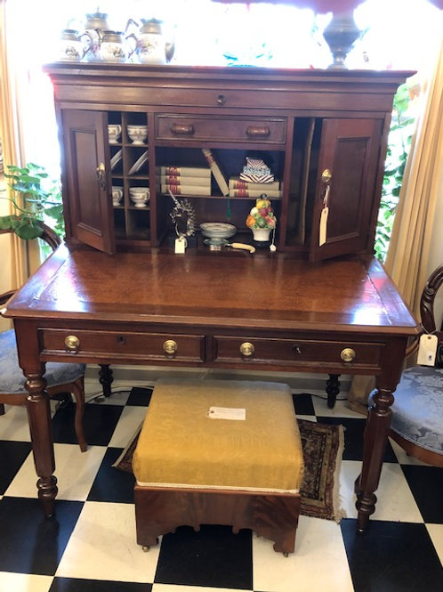 Antique Shopkeepers Desk w/Lot's of Storage