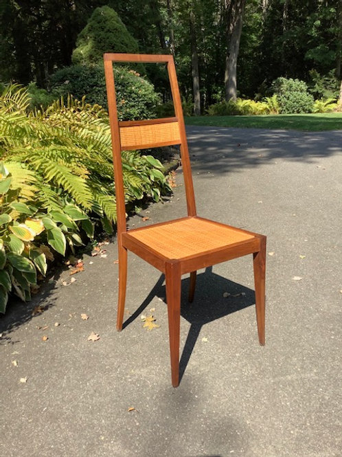Vintage Italian Wooden Side Chair in Beautiful Condition.