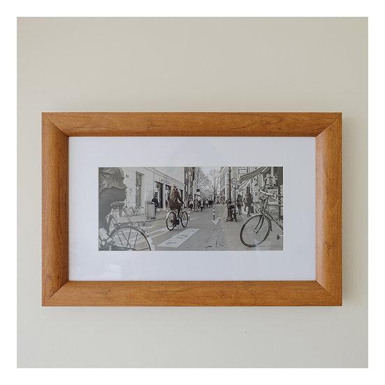 Ciclistas - Emoldurado