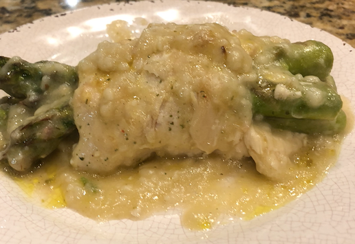 Chicken and Asparagus Bundles