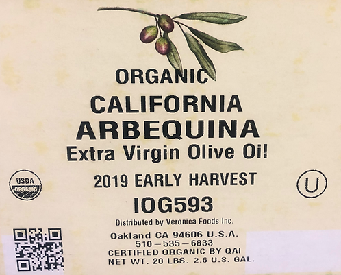 California Arbequina EVOO Extra Virgin Olive Oil