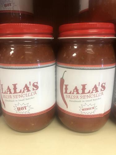 LaLa's Salsa Medium!