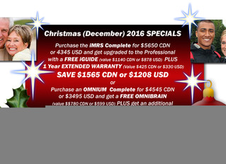 More PEMF info and holiday discounts!
