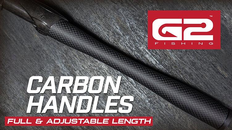 G2 Carbon Handles - Full & Adjustable Length Grips