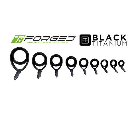 TiForged Black Titanium Running-Spinning Guides