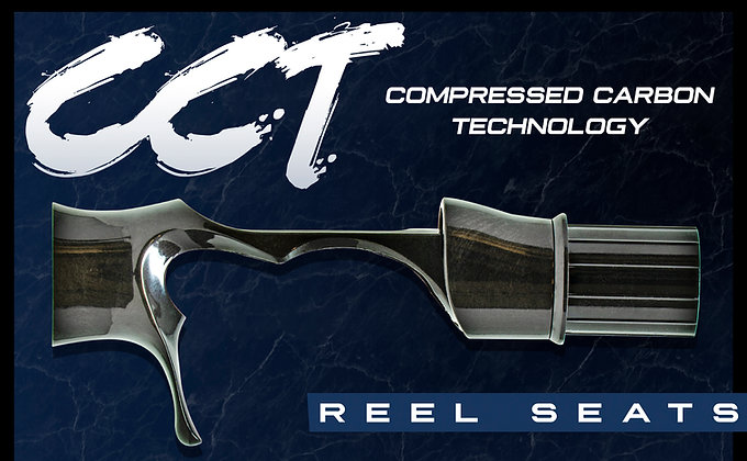 CCT - Compressed Carbon Technology Reel Seats