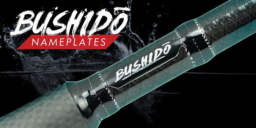 Bushido Name Plates