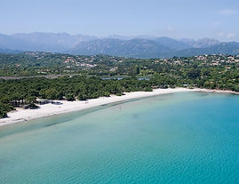 La baie de Pinarellu | Villa Diamondhead Corse