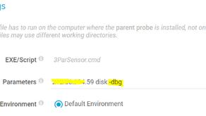 How to Collect the 3PAR Sensor Debug Information