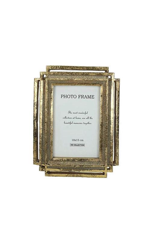 Gold Photo Frame 10x15cm