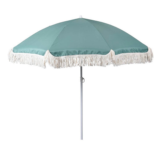 Beach umbrela mint colour