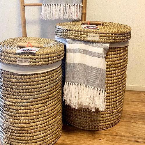 Char Yoshiko laundry basket natural large