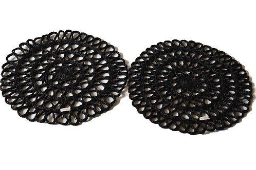 Feni – Placemat set of 2 black