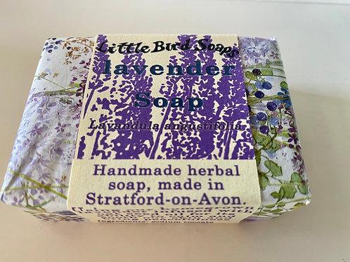 Handmade herbal soap Levander