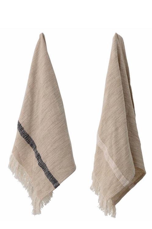 Jacen Kitchen Towel, Nature, Cotton