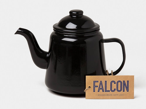 Falcon Teapot coal black