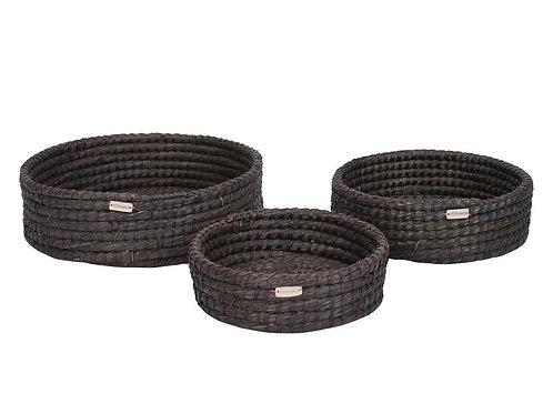 Trat black basket medium