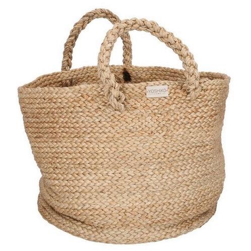 Magura. Soft basket thick handle. 100% Jute