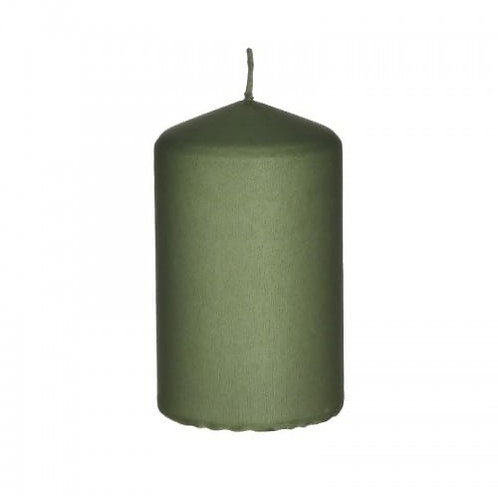 PARAFFIN CANDLE GREEN Φ6Χ10