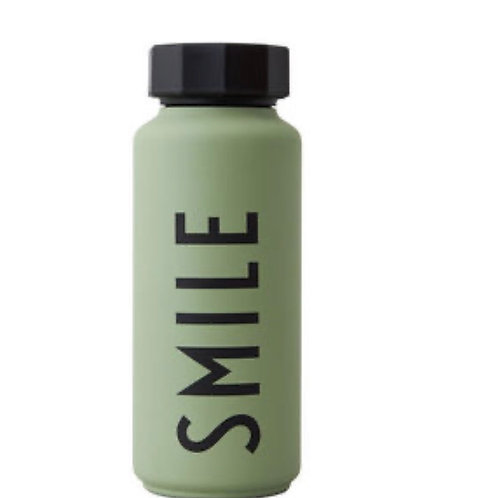 Thermo/Insulated Bottle Green smile - Special edition