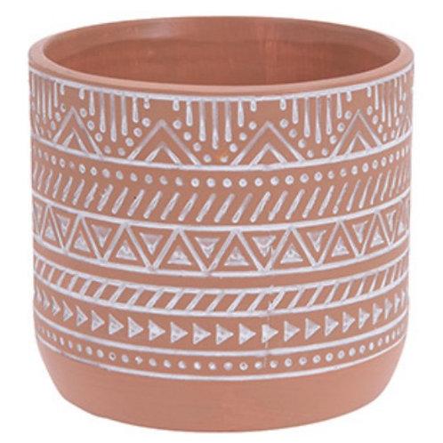 Flower pot terracotta 14 x 13 cm