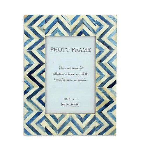 Blue photo frame 10x15cm