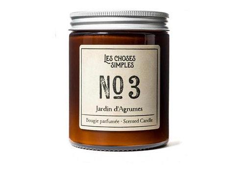 Candle No 3 Jardin d'Agrumes (Citrus)