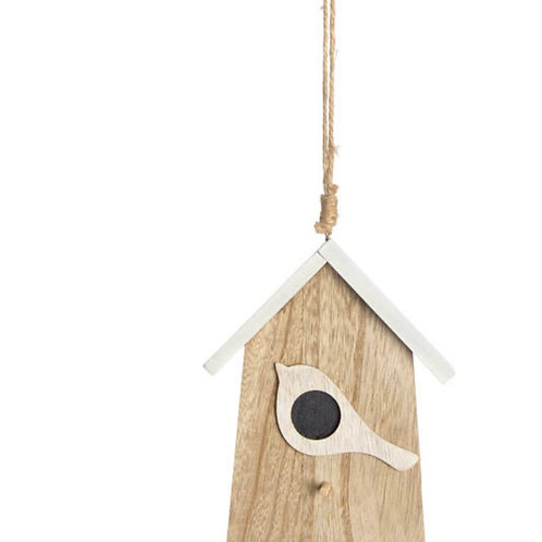 Wooden house 9,5x12,5cm
