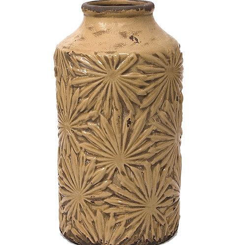 Ceramic vase teracotta 35cm