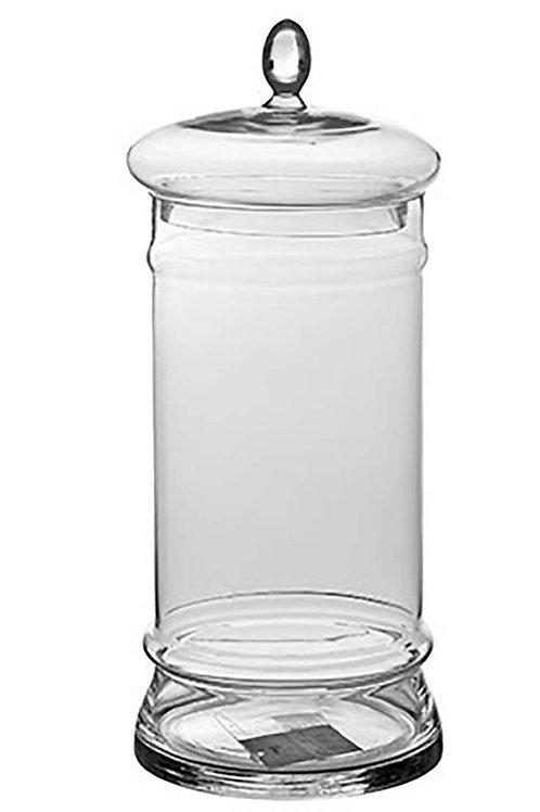 Glass jar with lid 43cm