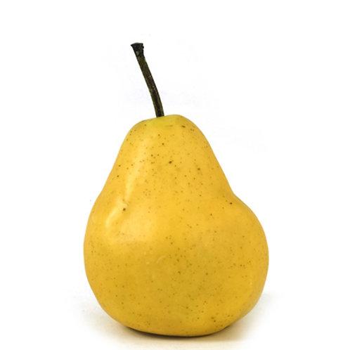 Διακοσμητικό Φρούτο Αχλάδι Κίτρινο 10,5cm
