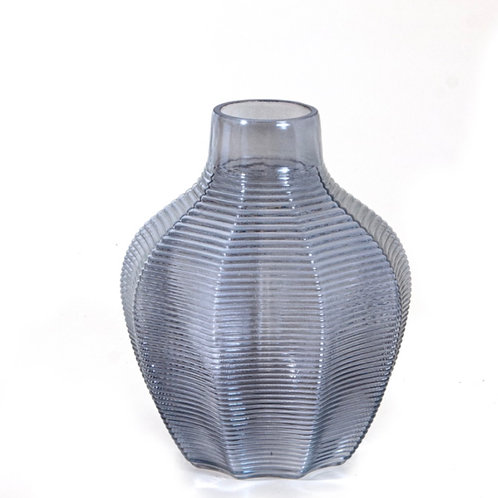 Blue vase 23 cm