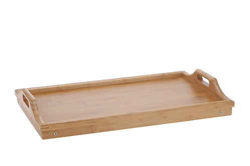 SERVING TRAY FOR BED, BAMBOO 50X30CM