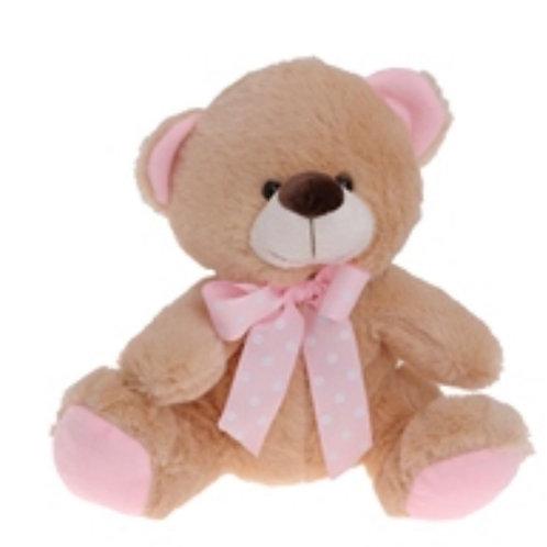 Teddy bear new born girl 20cm