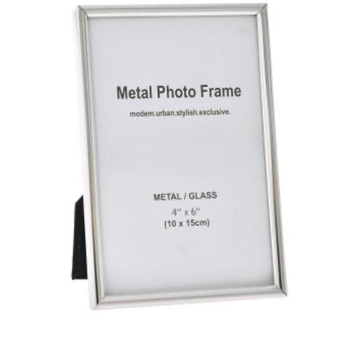 Metal photo frame 10x15cm