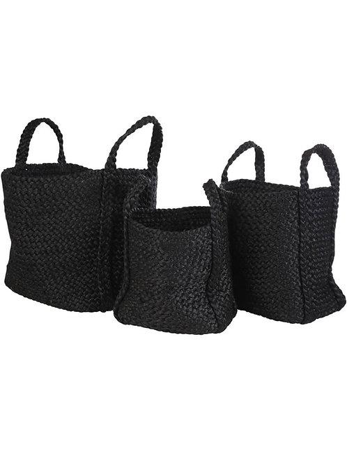 Pabria square soft basket Small Yoshiko