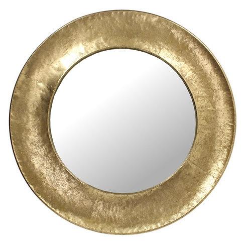 Mirror metal gold 71.5X4X71.5cm
