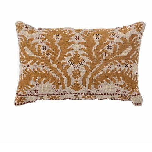 Dero Cushion, Brown, Cotton