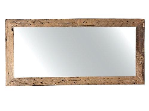 Mirror reclaimed teak, 70X160cm