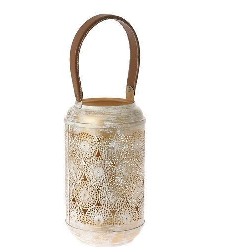 Metal lantern deco 15X27 cm