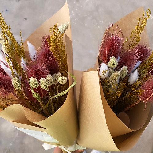 Hot dried bouquet