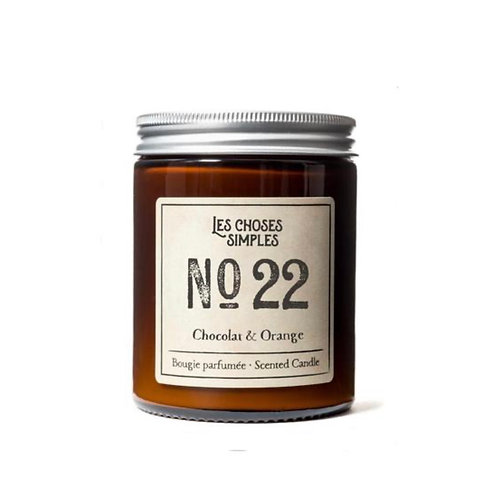 "Candle No 22 ""Chocolate & Orange"""