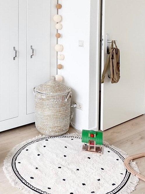 Rug Anna dots cream 110cm