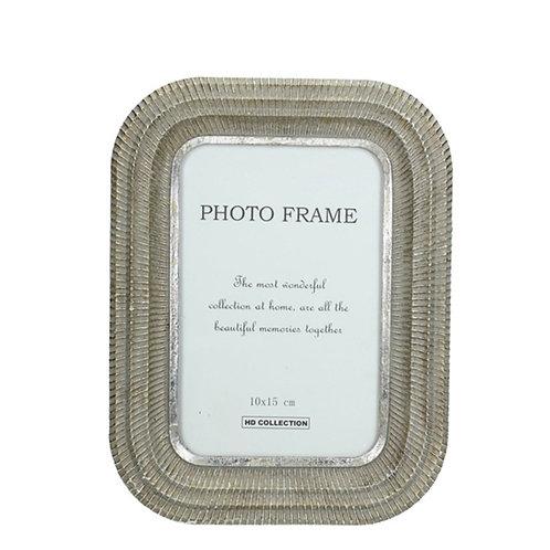 Silver photo frame antique