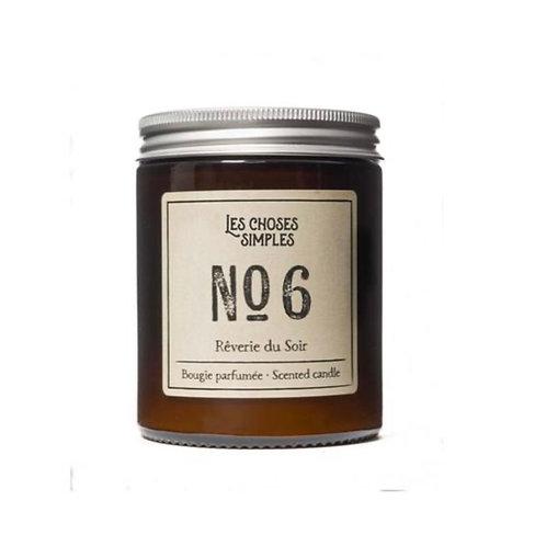 "Candle No 6 ""Rêverie du Soir"" (Black Amber & Lavender)"