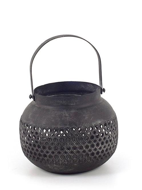 Black mat lantern