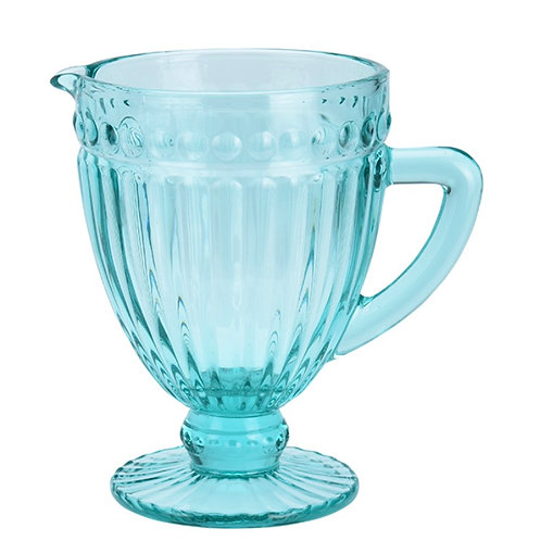 PITCHER WITH HANDLE, 1LTR, TURQUOISE, DIAMON